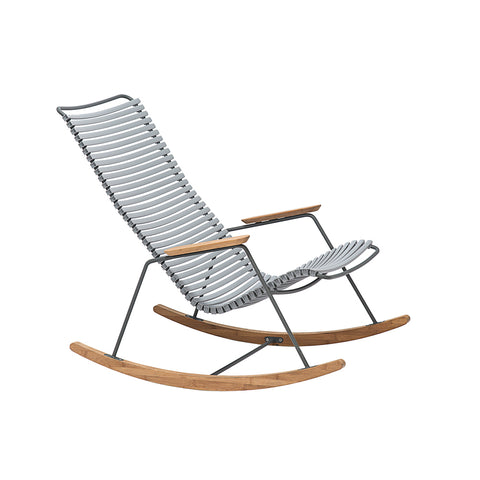 Click Position Outdoor Dining Chair Grey