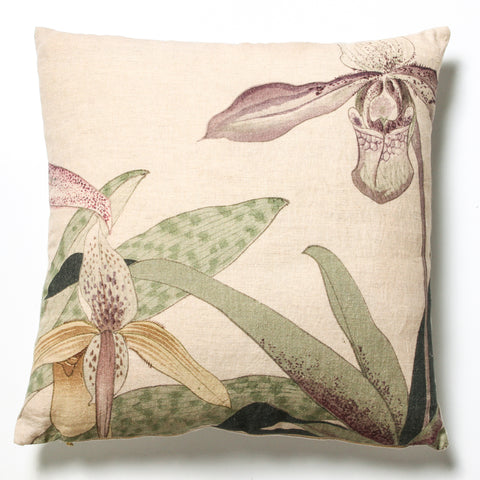 In Bloom Linen Cushion