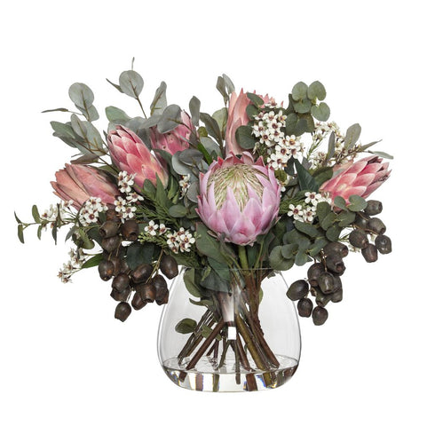 Native Mix in Garden Vase Pink 62cmH