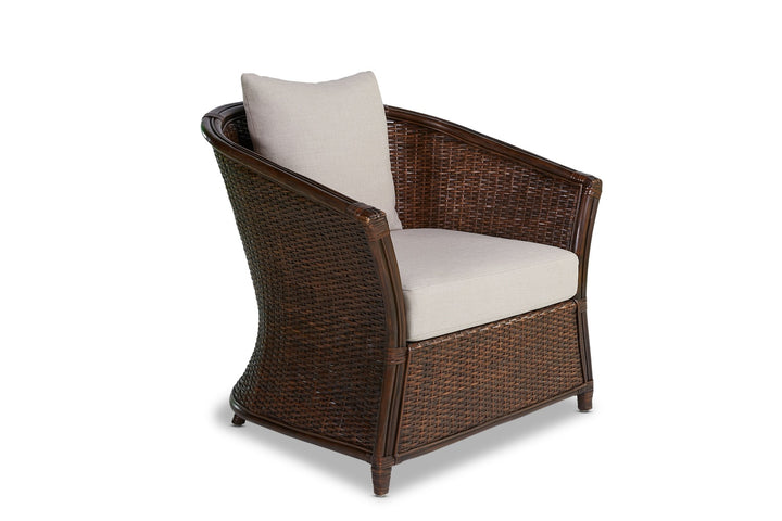 Moorea Lounge Chair Coffee Bean