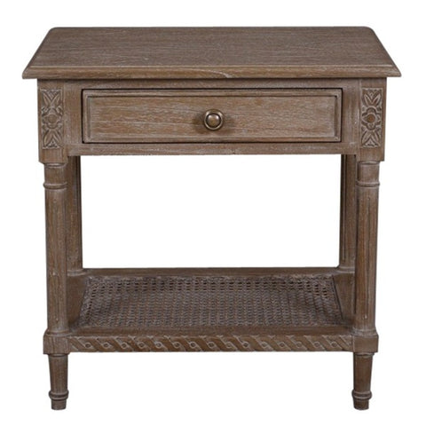 Polo Side Table Oak Wash