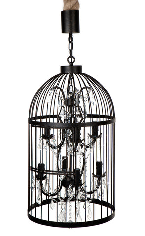 Macaw Chandelier 8 Arm
