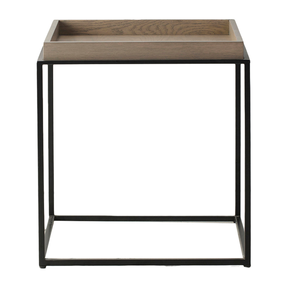 Fareham Tray Side Table Natural with Grey Wash