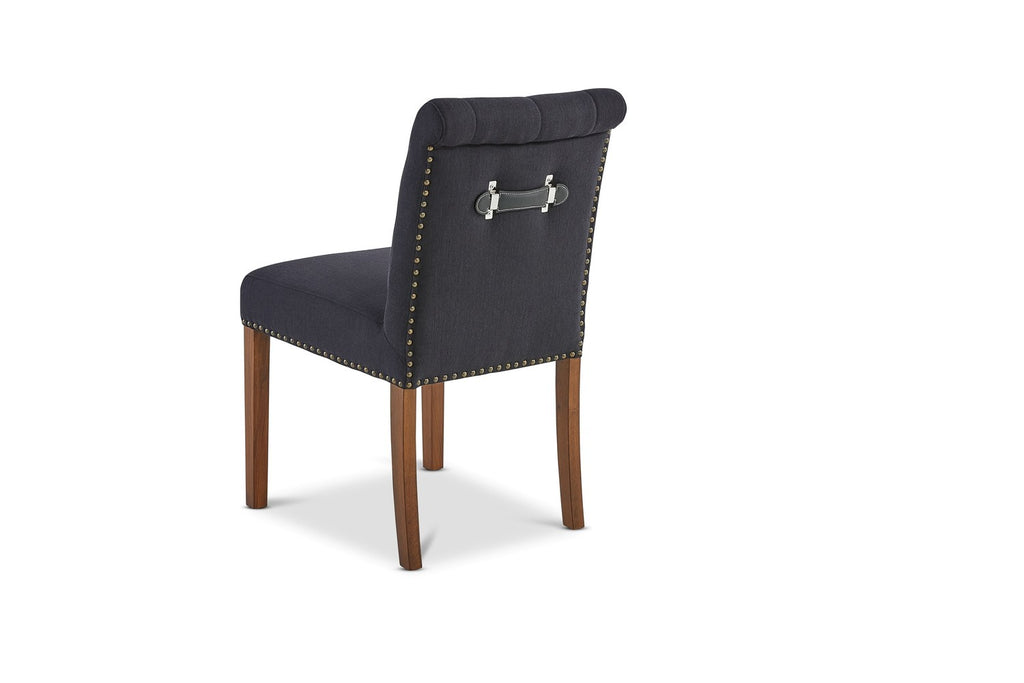 Yves Dining Chair Charcoal