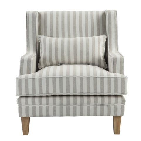 Shoreham Armchair Natural Stripe
