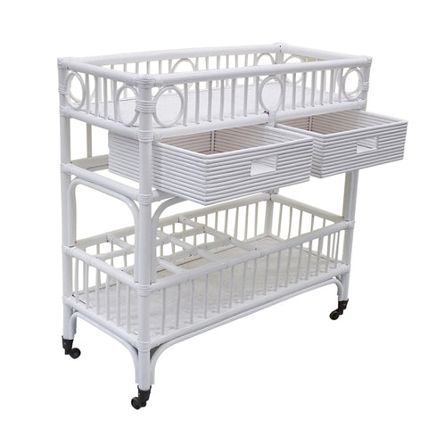Samet Bar Caddy White