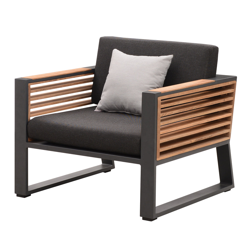 Whitsunday Club Chair Charcoal