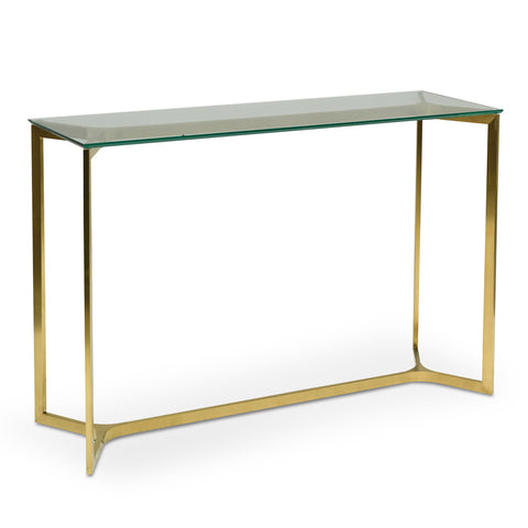 Dorest 2 Drawer Mirrored Console