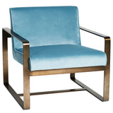 Melrose Porter Armchair Pale Blue