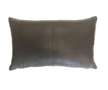 Nappa Leather Cushion Expresso