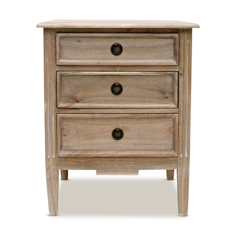 Henley Bedside Table Natural