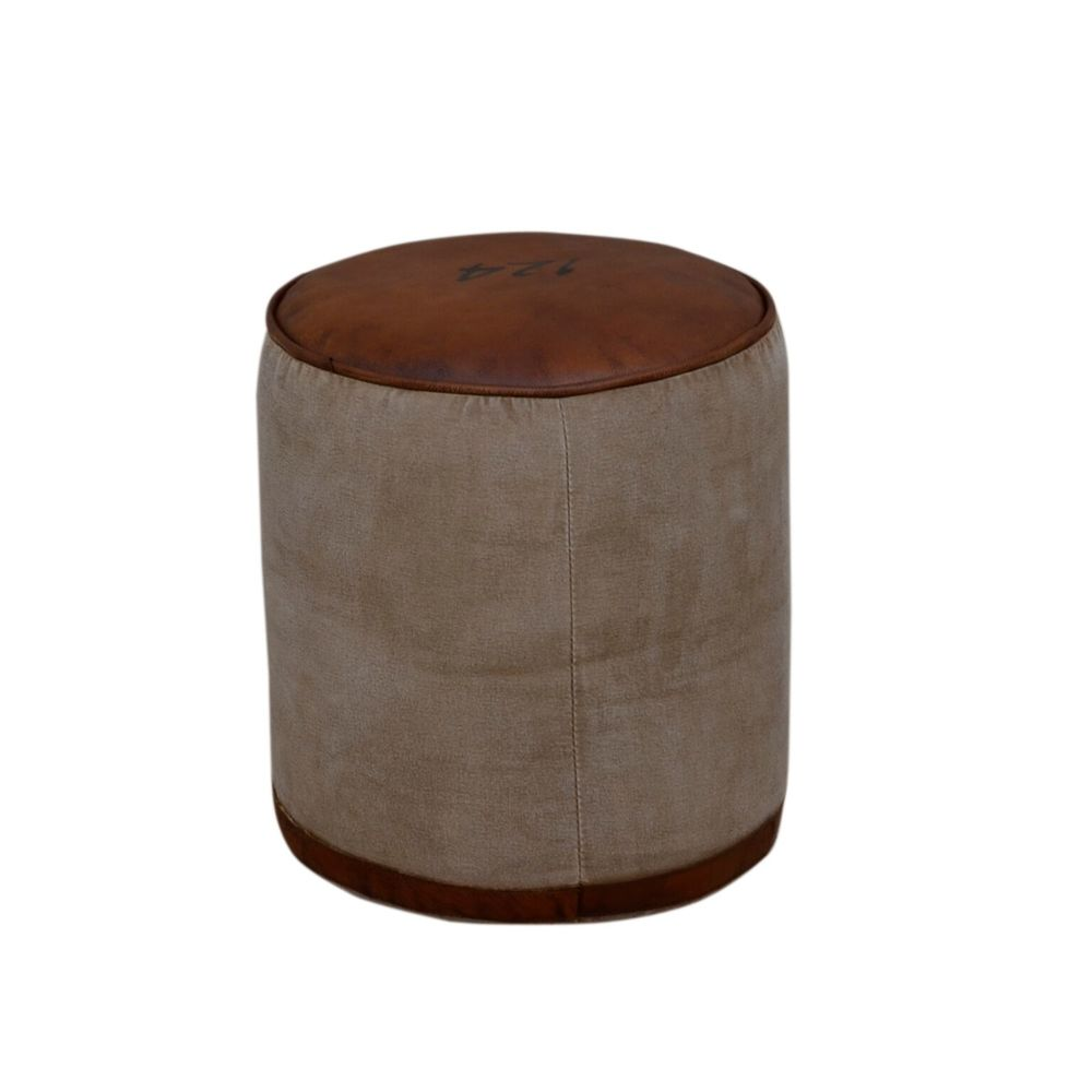 Postes France Round Stool