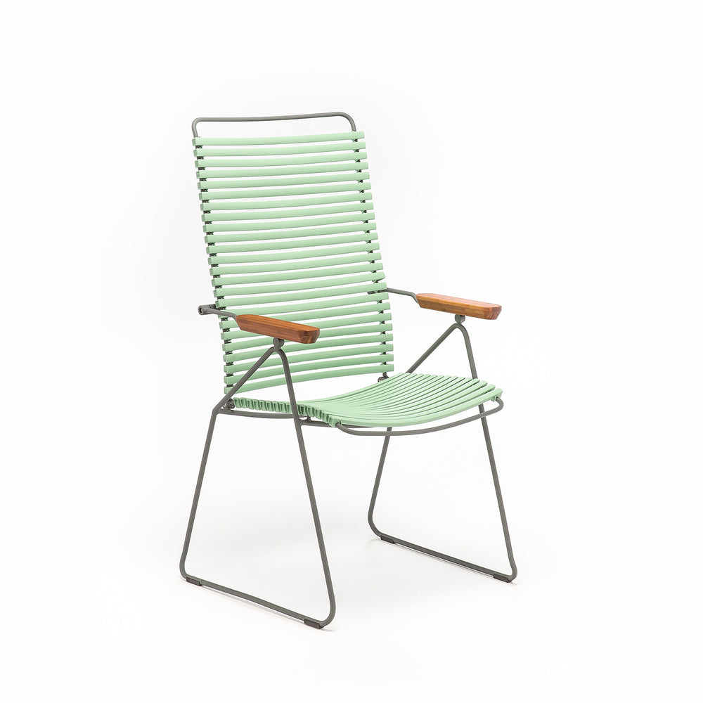 Click Position Dining Chair Dusty Light Green