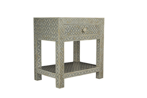 Laurette 3 Drawer Bedside Table