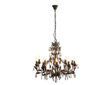 Taupe Large Chandelier