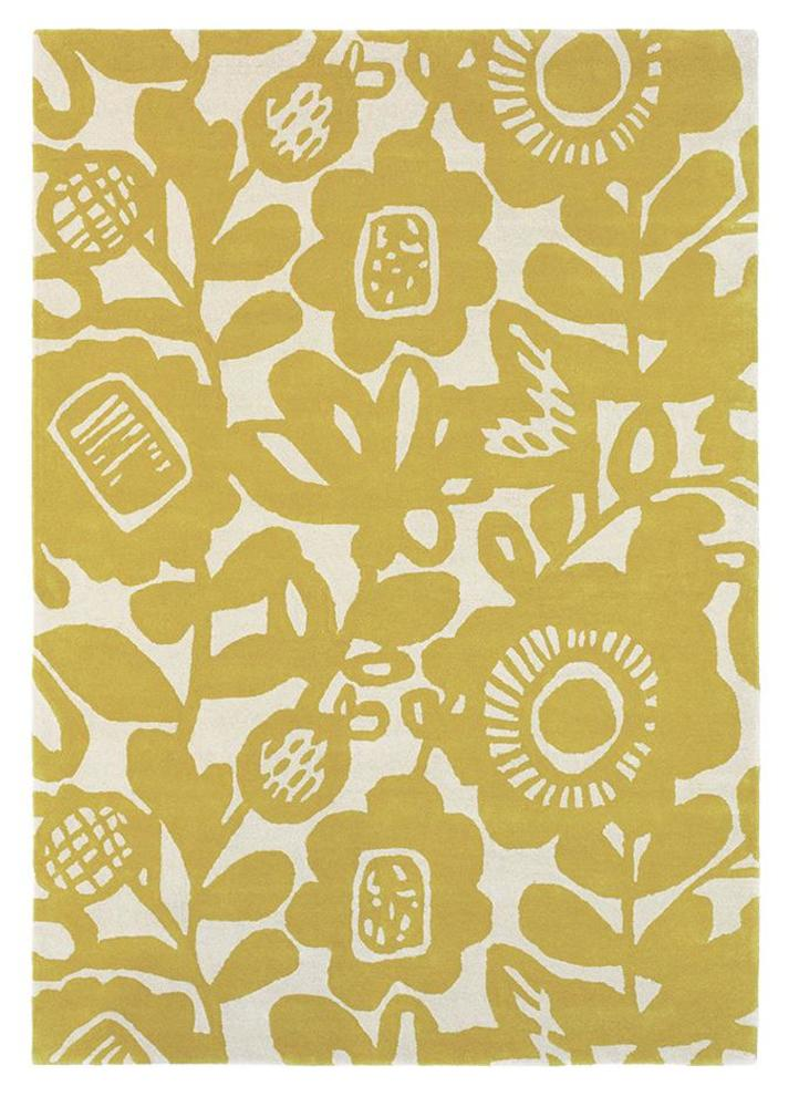 Scion Kukkia Rug Honey