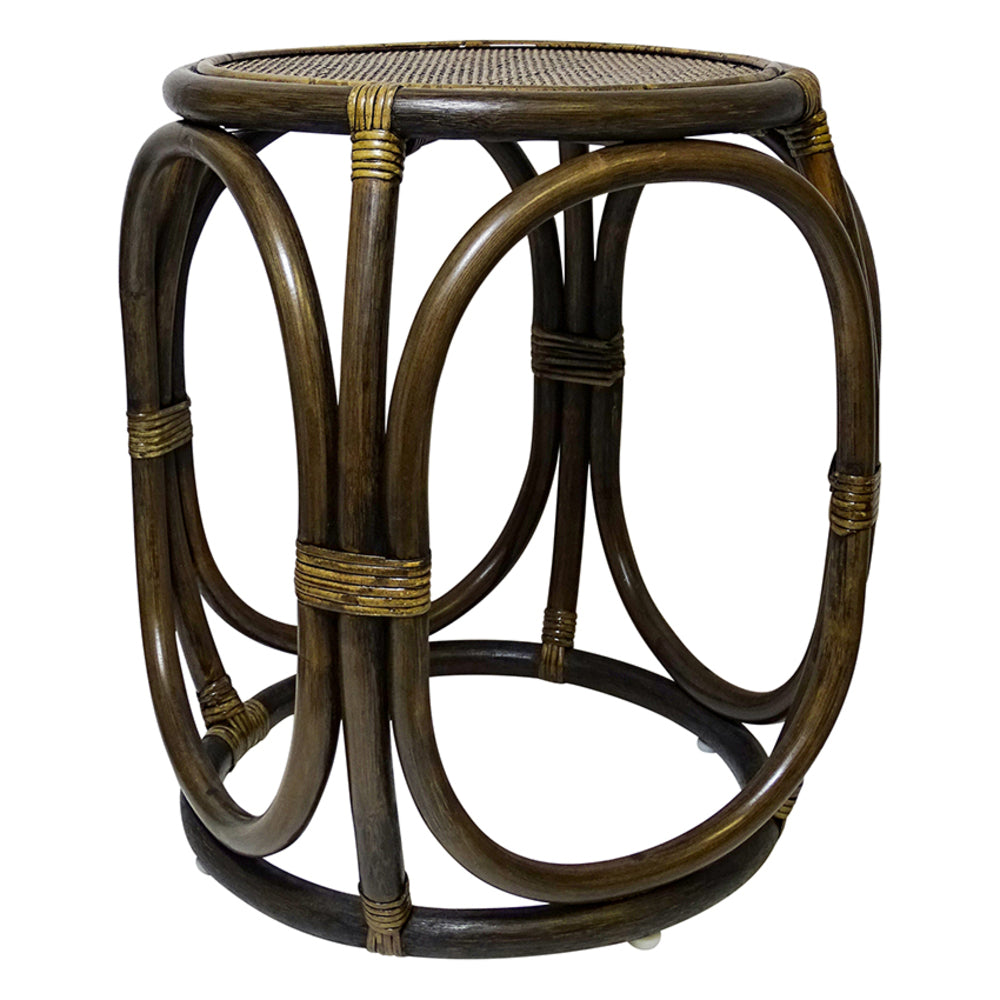 Rahiti Side Table Tobacco Brown