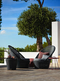 Kingston Outdoor Sun Chair Mocca with Cushion Options