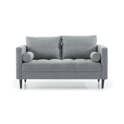 Airley 2 Seat Sofa Blue Grey