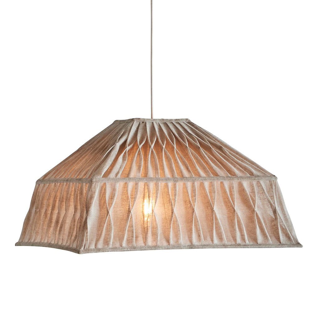 Penny Natural Pendant Light