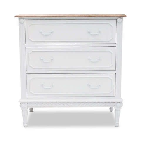 Sarayu Bone Inlay Florentine 4 Drawer Chest Indigo
