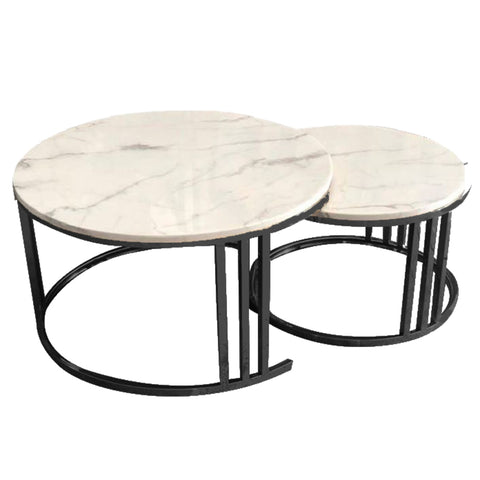 Lancaster Coffee Table Set/2 Black