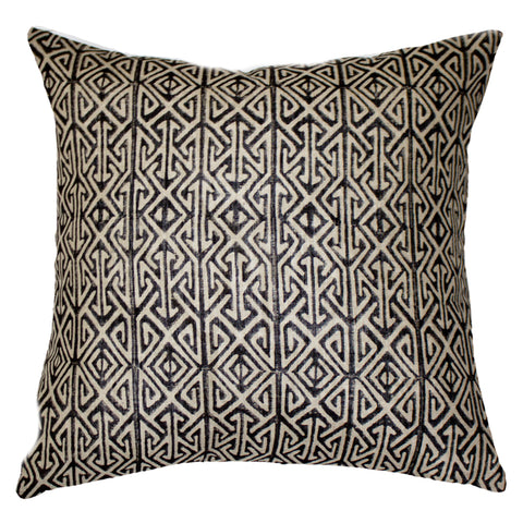 Arrow Print Navy Cushion