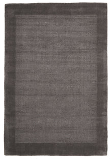 Cut and Loop Pile Rug Grey