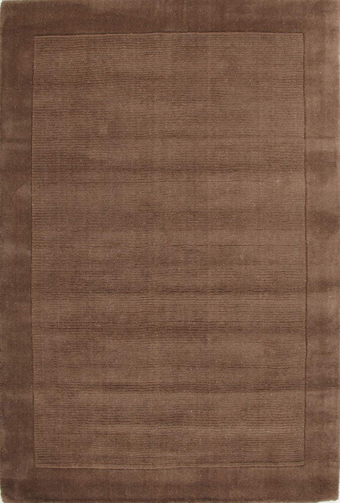 Cut and Loop Pile Rug Taupe