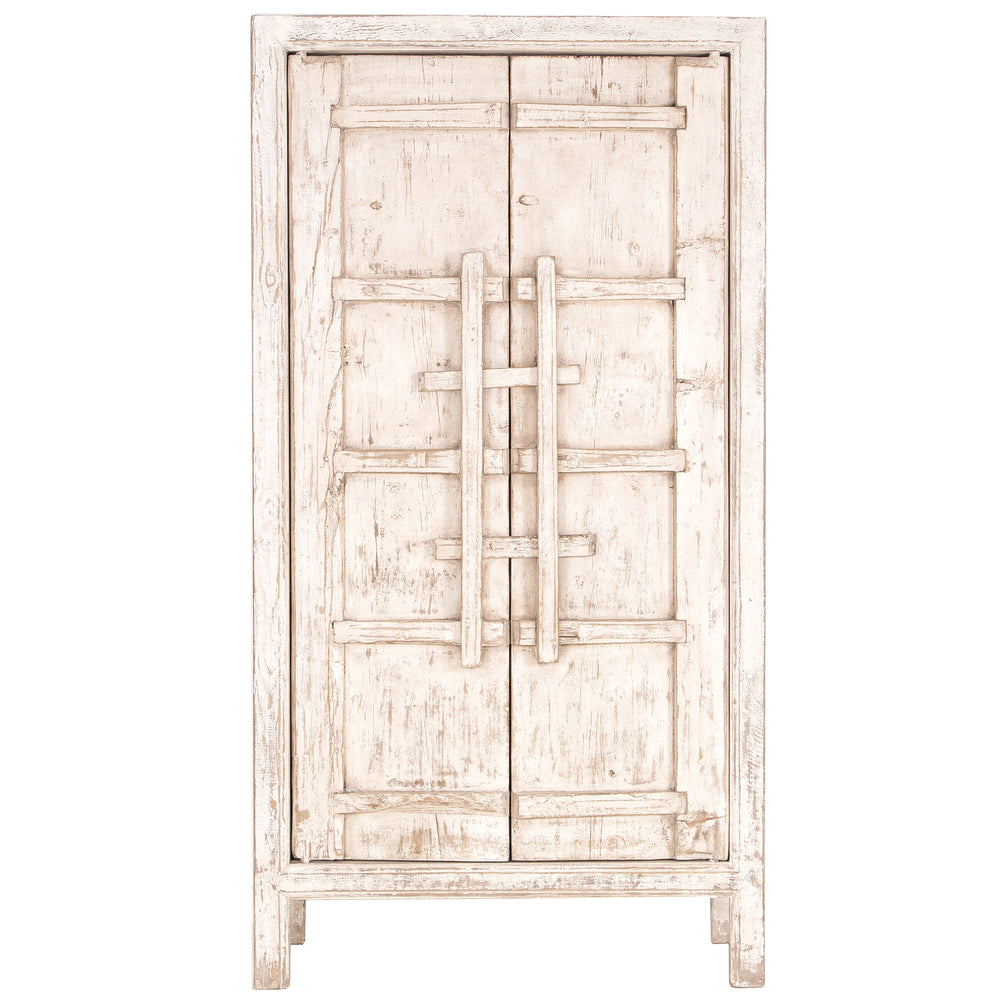 Bulu Tall Cabinet White