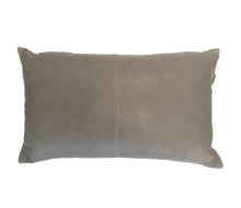 Nappa Leather Cushion Taupe