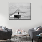 Maintenance Photographic Canvas Print with Floating Frame