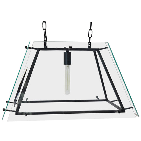 Tub Metal Pendant Black