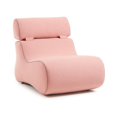 Comma Occasional Chair Pink