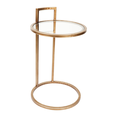 Frank Side Table Antique Gold