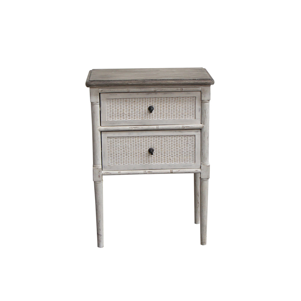 Laurette 2 Drawer Bedside Table