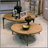 Colette Oak Tall Coffee/Side Table