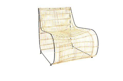 Tiger Cane Dining Chair