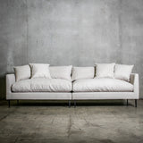 London 4 Seat Sofa Ecru