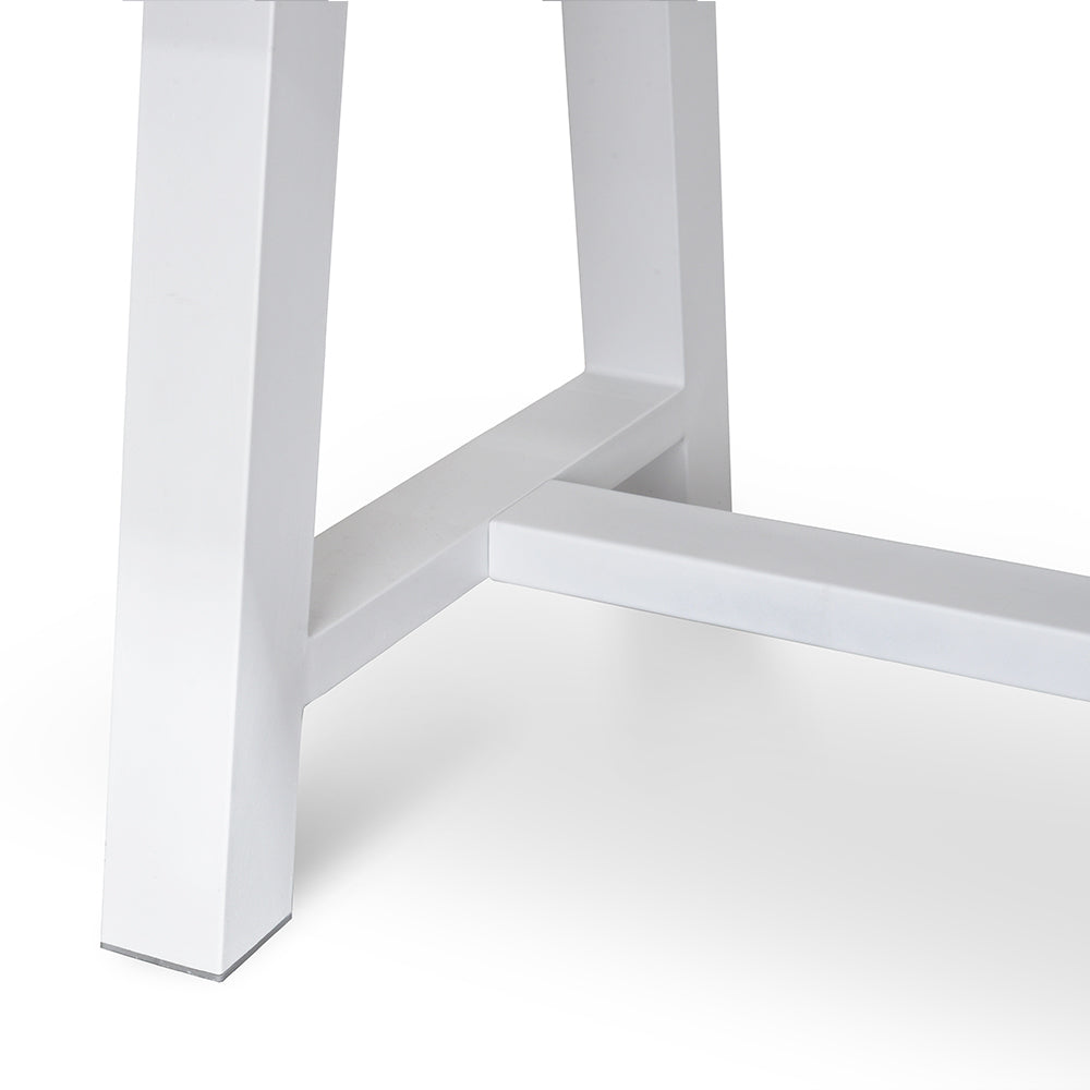 Potoma Indoor/Outdoor Dining Table White