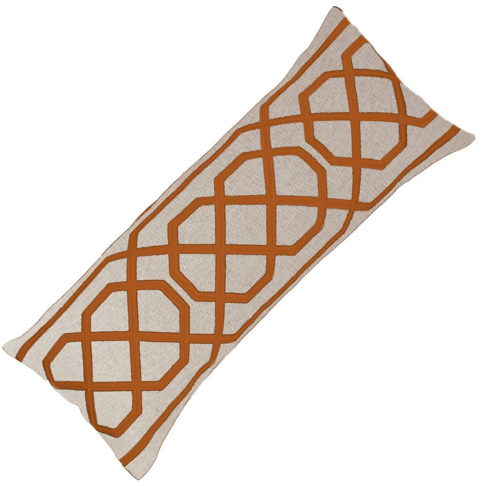 Jagger Copper Long Lumber Cushion