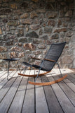 Click Outdoor Rocking Chair Dark Grey