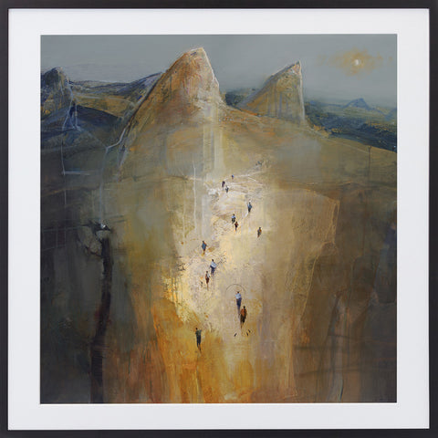 Journey To Glasshouse Mountain Limited Edition Print By Mel Brigg