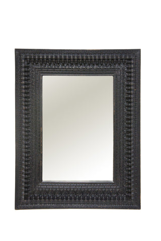 Shamri Wooden Mirror Black