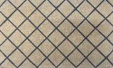 Grey Trellis Regular Doormat