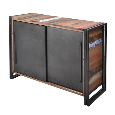 McPherson Leather Trunk Black