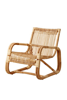 Curve Lounge Chair Natural