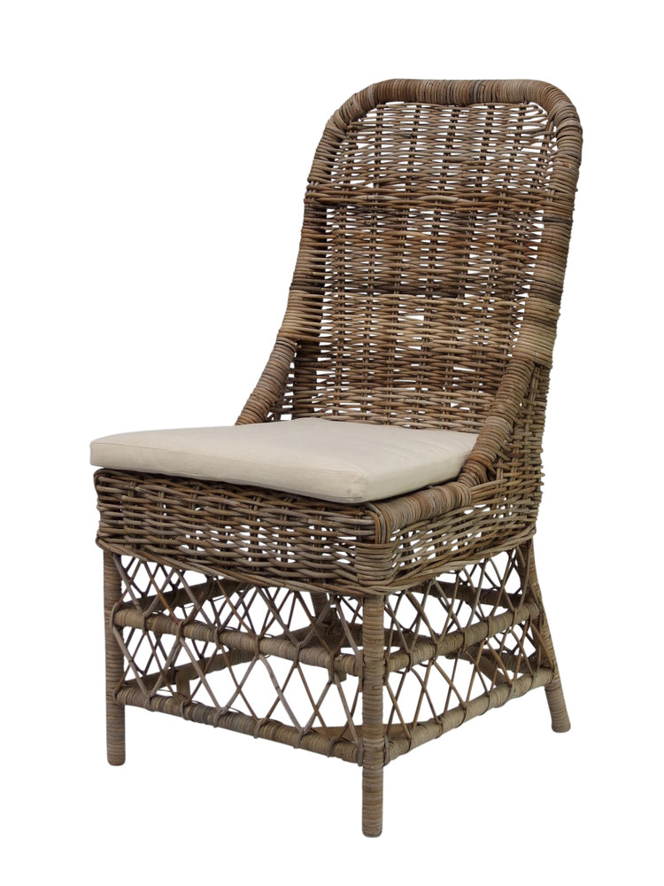 Raymond Rattan Dining Chair