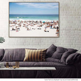 Beach Weather Canvas Print with Floating Frame