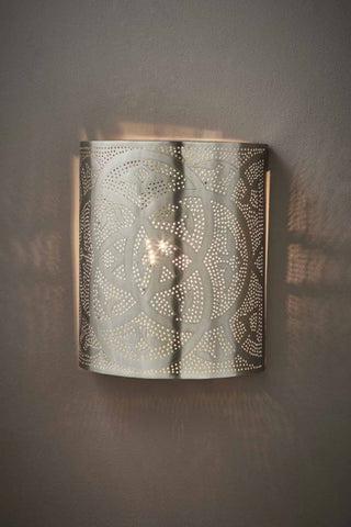 Barclay Wall Sconce Antique Silver